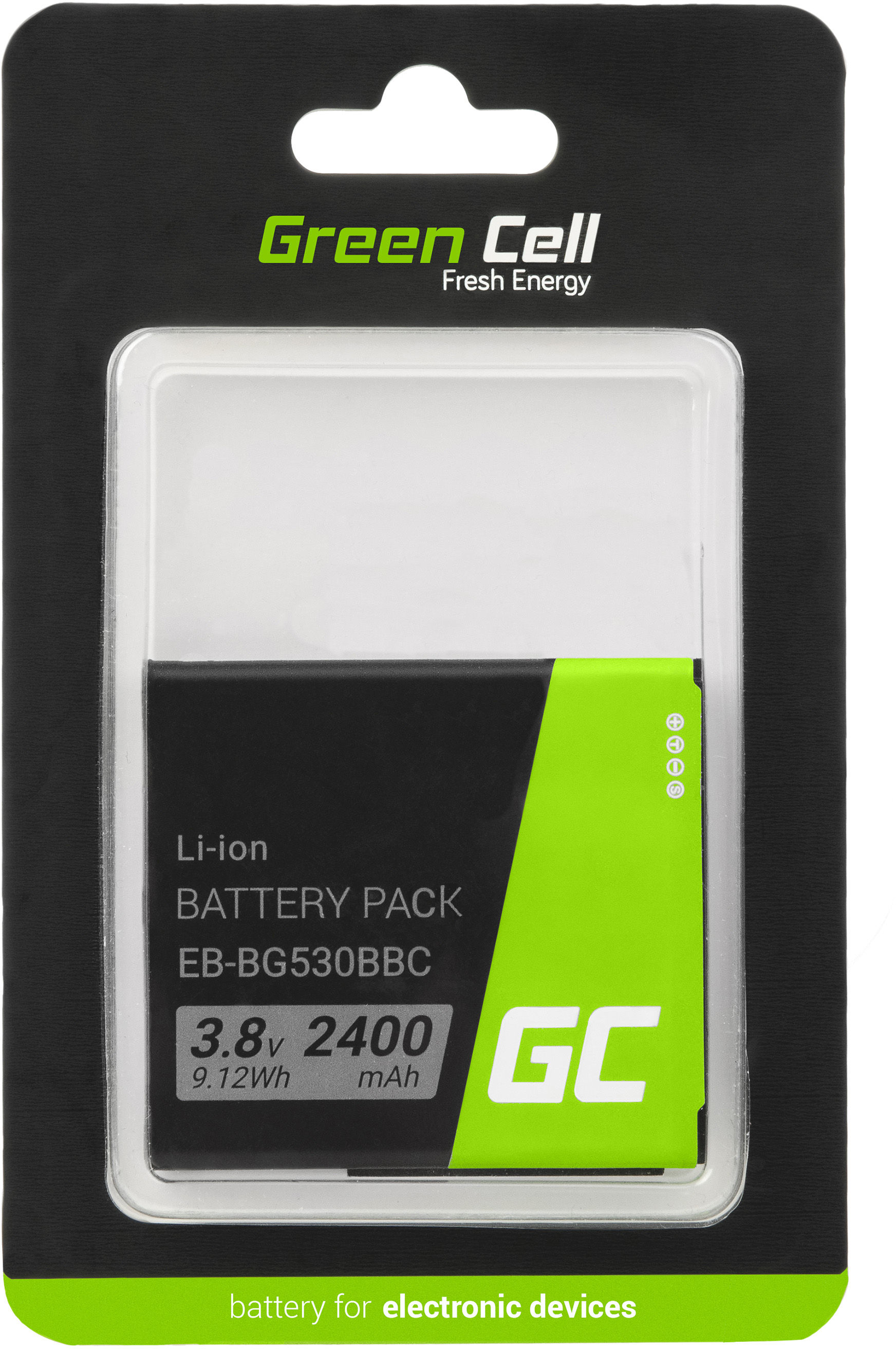 Bateria Green Cell SM-G531F do telefonu Samsung Galaxy Grand Prime Galaxy J3 J5