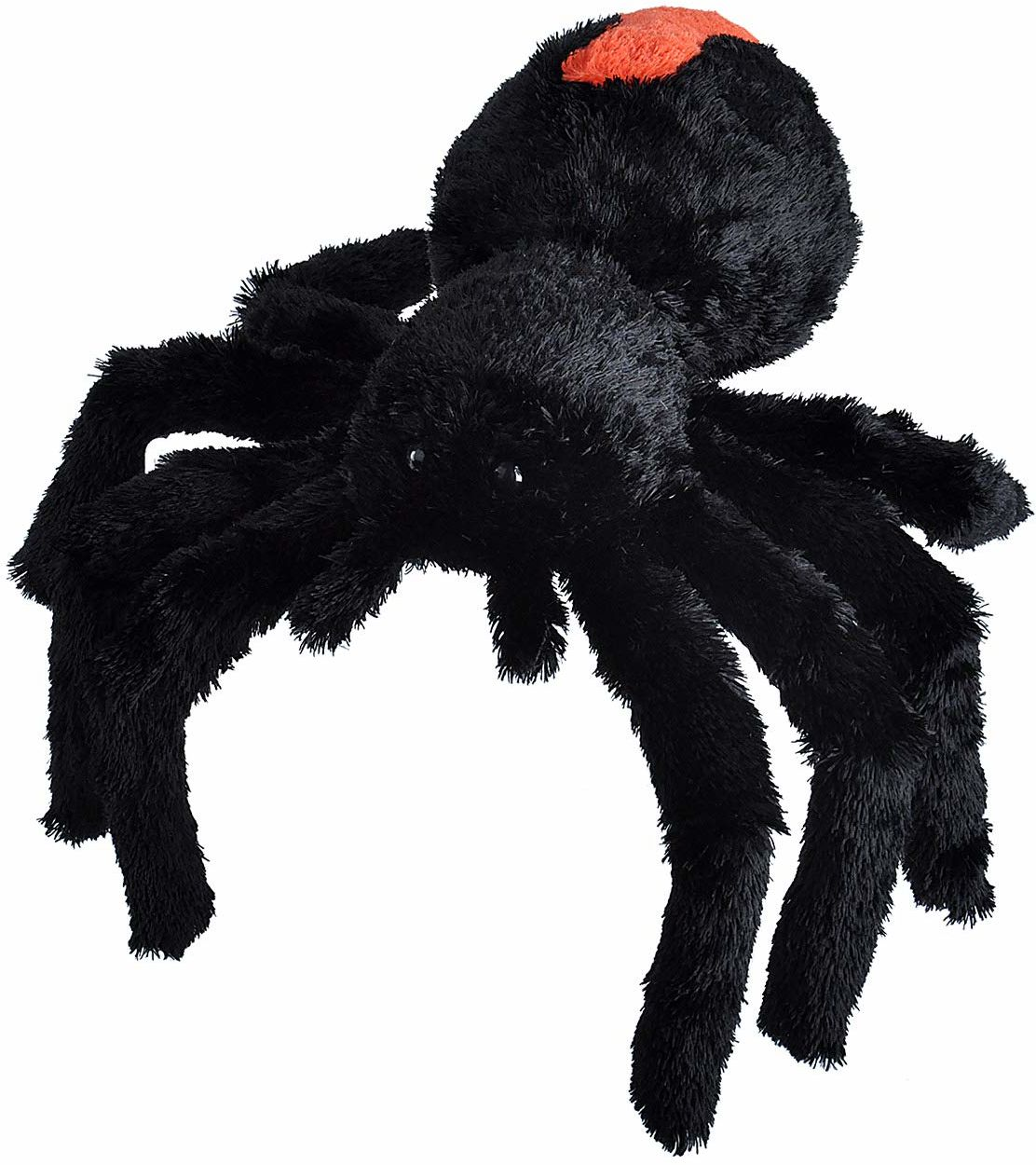 Wild Republic 23088 pluszowy pająk z trukwy, Cuddlekins przytulanka pluszowa 30 cm, Multi