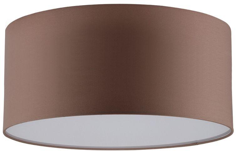 Spot Light 4792812 Josefina plafon lampa sufitowa abażur tkanina brązowy/biały akryl 2xE27 25W 28cm