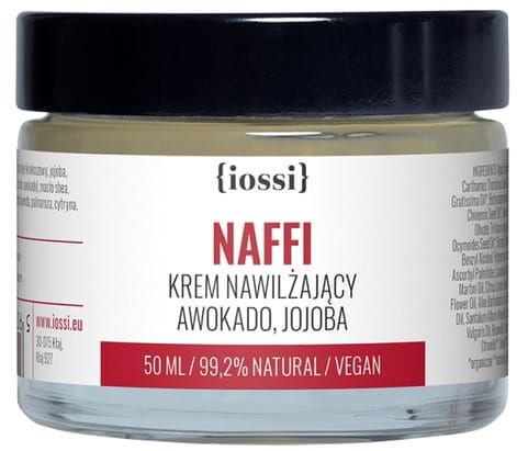 Iossi Krem Nawilżający NAFFI Awokado & Jojoba, 50 ml