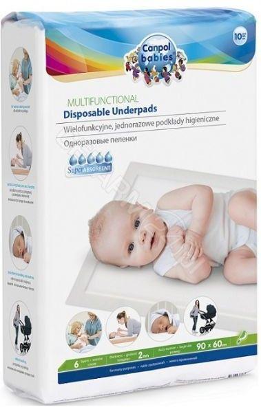 Canpol Babies Podkłady higieniczne jednorazowe wielofunkcyjne 10szt