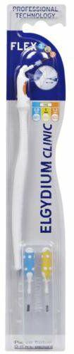 Elgydium Clinic Flex 123 szczoteczki międzyzębowe z ruchomą rączką 3 sztuki