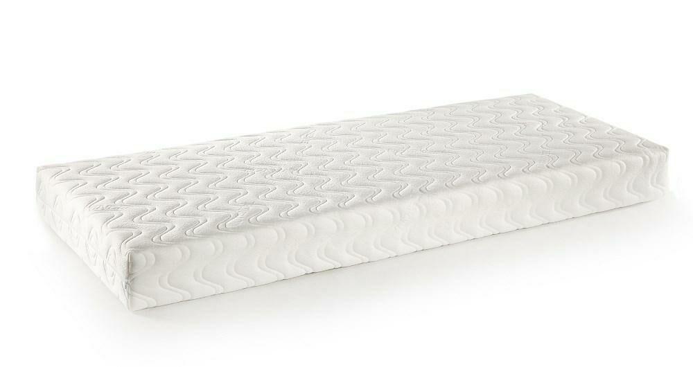 Pokrowiec na materac 200x200x18 Tencel biały AMW