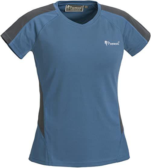 Pinewood Activ damski T-shirt niebieski niebieski/szary S