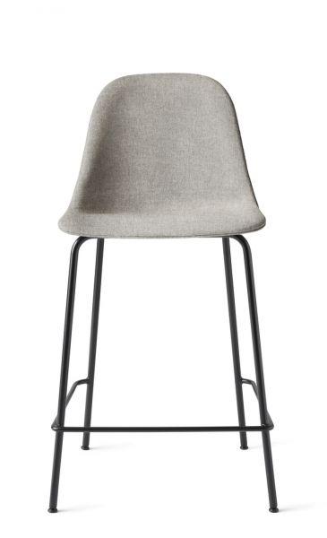 Menu HARBOUR SIDE Krzesło Barowe 102 cm Hoker Jasnoszary - Siedzisko Tapicerowane Odcień Szary