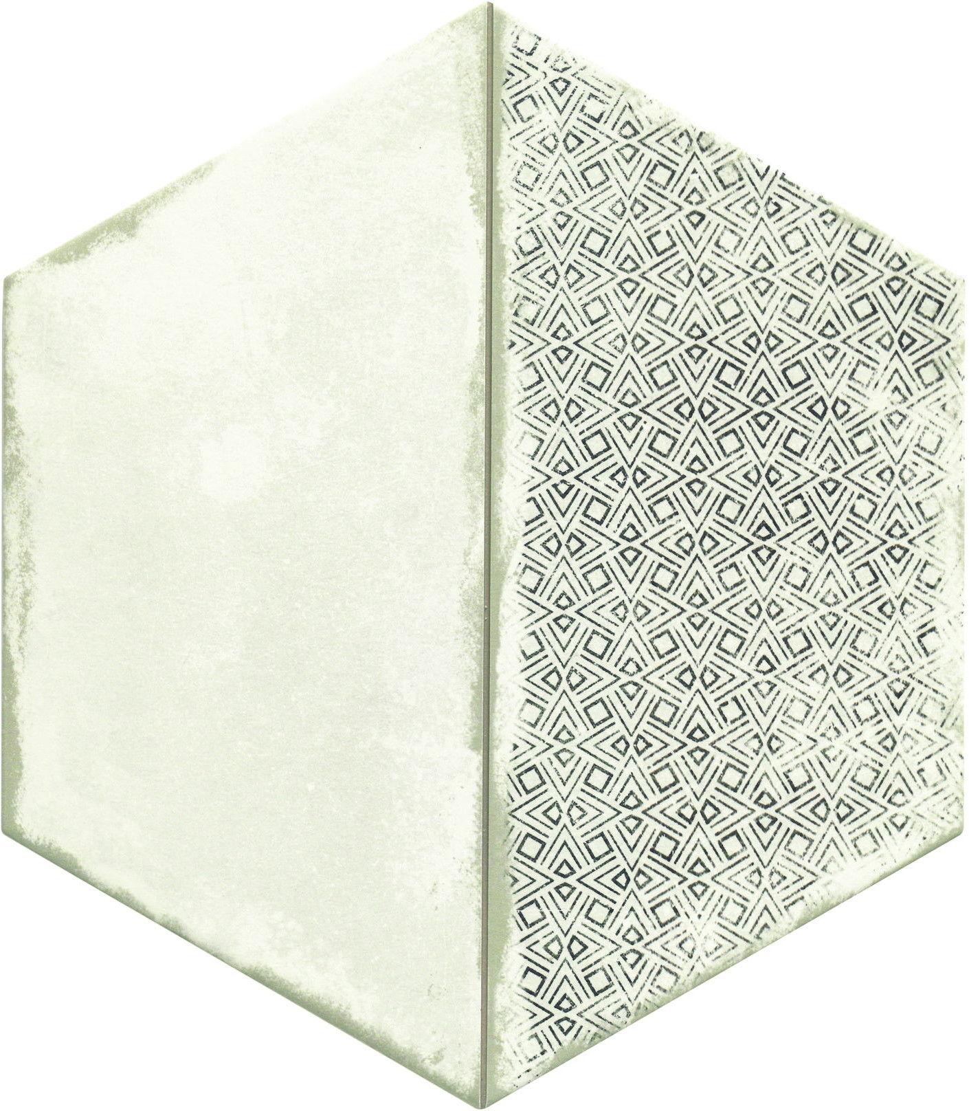 Trapez Vintage Deco 28,5x33 płytki heksagonalne
