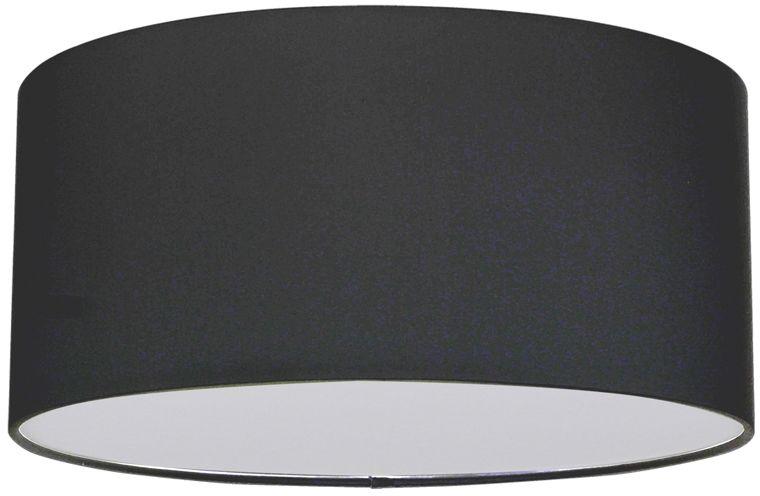 Spot Light 4782812 Josefina plafon lampa sufitowa abażur tkanina antracyt/biały 2xE27 25W 28cm