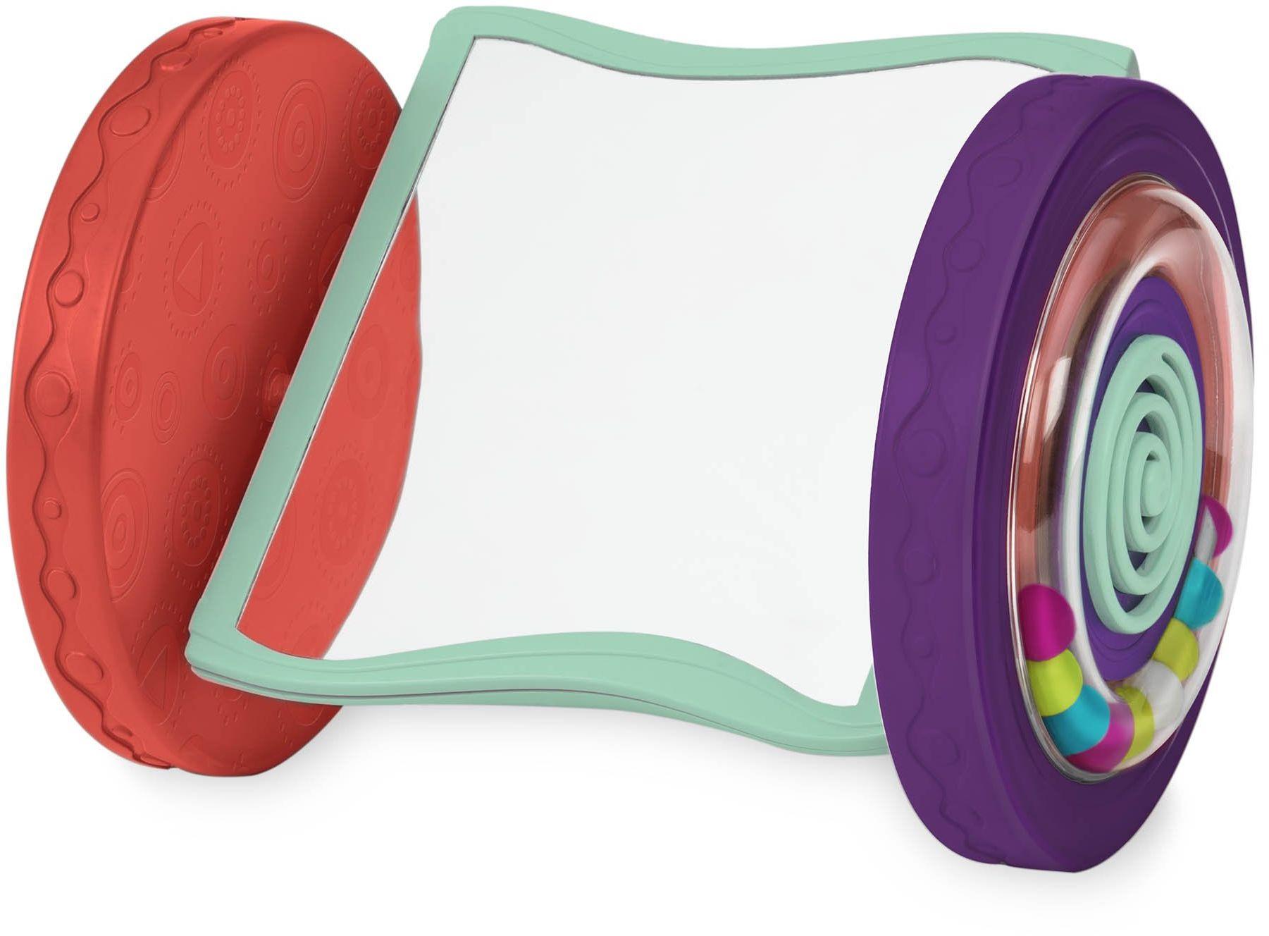 B. toys zabawka dla niemowląt  ruchome lustro  zabawka do raczkowania i zabawy na brzuchu, zabawka dla dzieci od 0 miesięcy, bez PCW i ftalanów