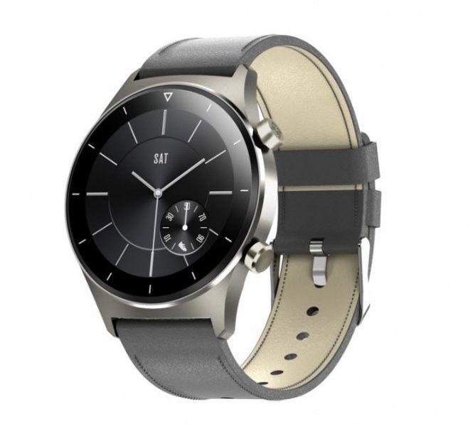 Smartwatch męski Farrot E13 GT2 do Huawei pulskoksymetr szary