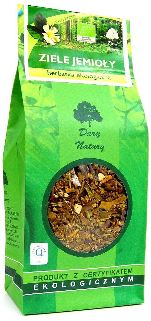 Herbatka ziele jemioły bio 200 g - dary natury