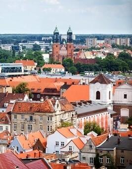 Lot balonem  Poznań