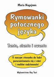 Rymowanki potocznego języka - Ebook.