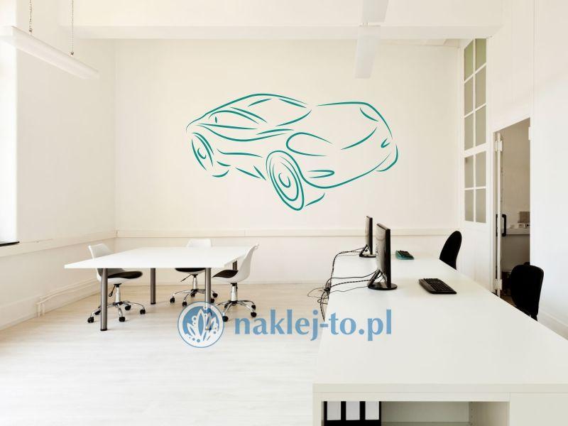 Auto 3 naklejka dekoracyjna auto naklejka na ścianę
