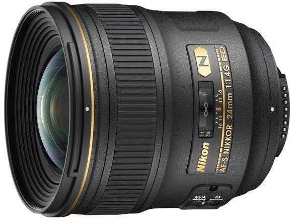 Nikon AF-S Nikkor 24mm f/1.4G ED Czarny