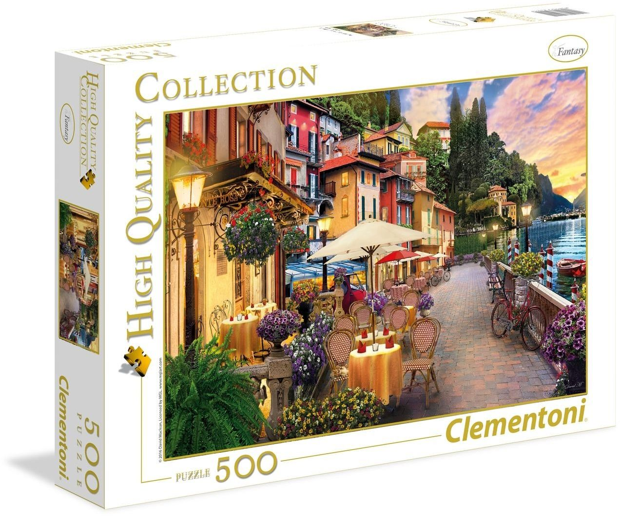 """Clementoni 35041.4 - Puzzle""""High Quality Kollektion - Marzenie Monte Rosa"""", 500 części"""