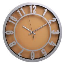 Zegar ścienny arabic pomarańcz