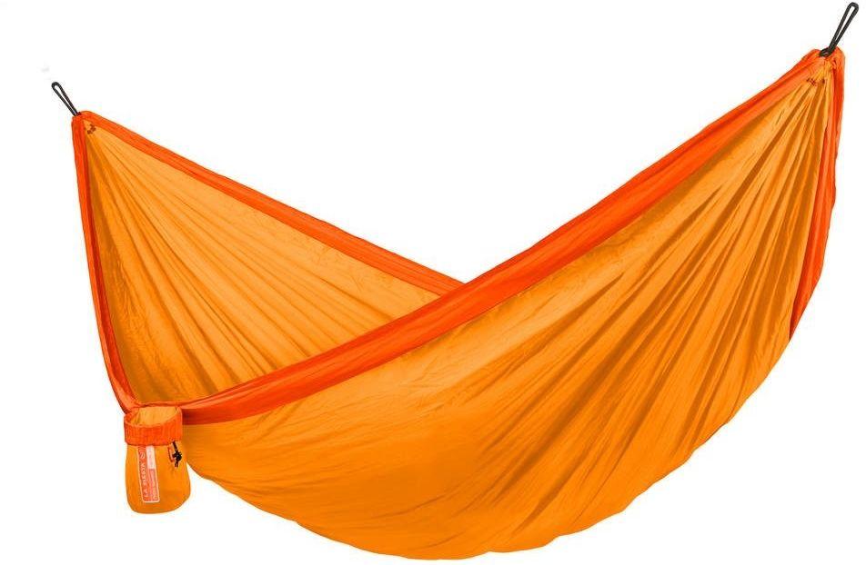 Lasiesta - colibri 3.0 - hamak turystyczny, jednoosobowy - sunrise - pomarańczowy