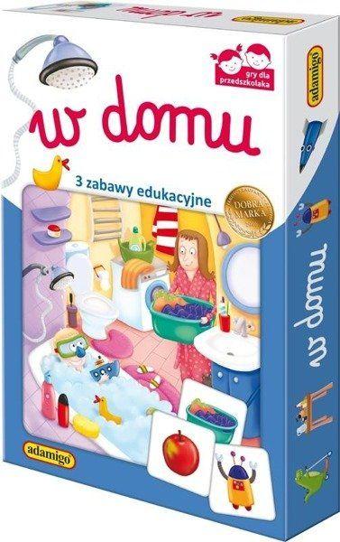 W domu - zestaw edukacyjny - Adamigo