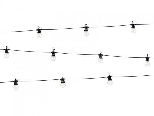 Lampki dekoracyjne żarówki led, czarne