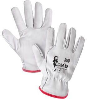 Rękawice robocze BONO skóra licowa CXS