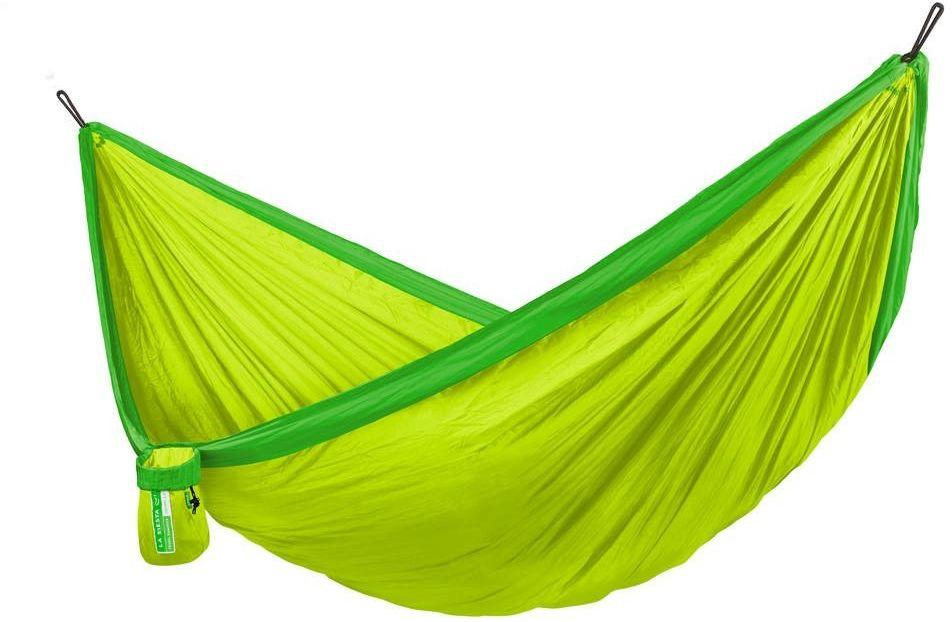 Lasiesta - colibri 3.0 - hamak turystyczny, jednoosobowy - palm - zielony