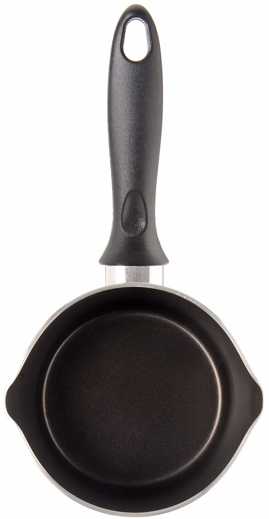 Alluflon garnek kuchenny z lejkiem 14 cm, 0,95 l, aluminium, przeznaczony do kontaktu z żywnością