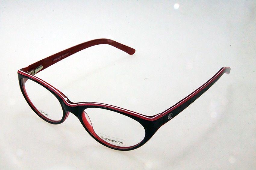 Oprawki okularowe Lorenzo KB13589 C1 czarno-czerwone