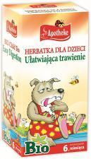 Herbatka dla dzieci NA TRAWIENIE BIO (20x1,5g) APOTHEKE