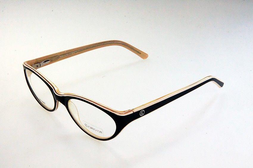 Oprawki okularowe Lorenzo KB13589 C3 czarno-beżowe