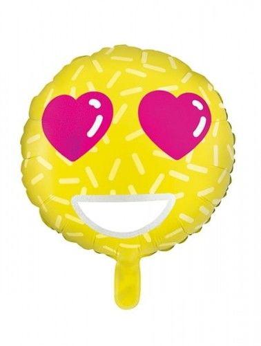 Balon foliowy Emotikon - Love