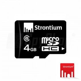 Karta microSDHC 4GB Strontium