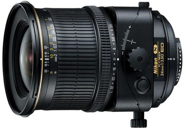 Nikon PC-E 24mm f/3.5D ED Czarny