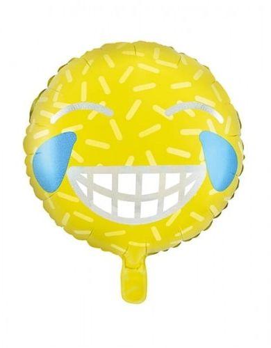 Balon foliowy Emotikon - Uśmiech