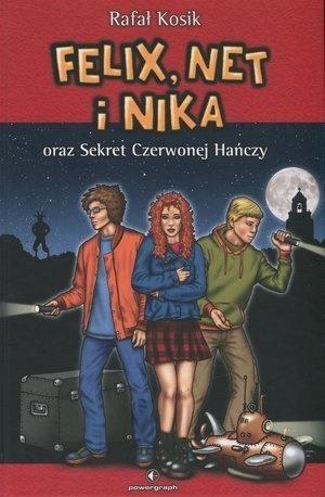 Felix, Net i Nika oraz Sekret Czerwonej Hańczy Tom 12 ZAKŁADKA DO KSIĄŻEK GRATIS DO KAŻDEGO ZAMÓWIENIA