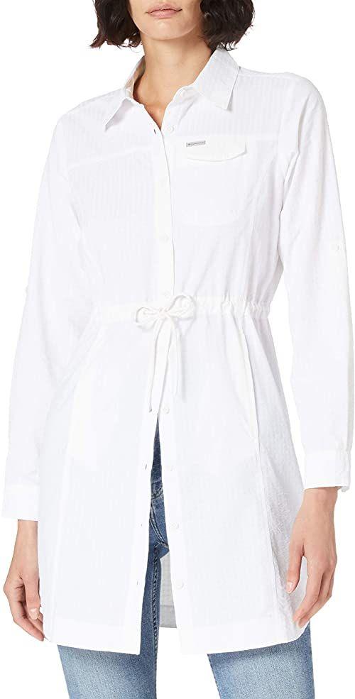 Columbia Damska sukienka Silver Ridge Novelty biały biały S