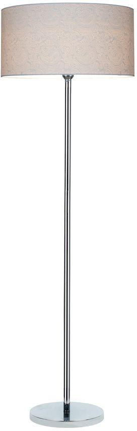 Spot Light 6653028 Leila lampa podłogowa metalowa chrom/transparentny/biały (paisley) 1xE27 60W 166cm