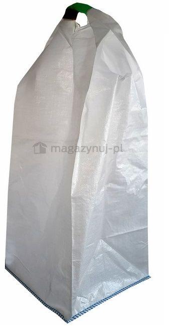 Worek BIG BAG 1. 1 uchwyt, wym. 625x625x1200mm (Ładowność 500 kg) - KOMPLET 20 szt.