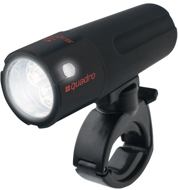 SIGMA SPORT - lampa przód / latarka  QUADRO - kolor: Czarny,4016224131006