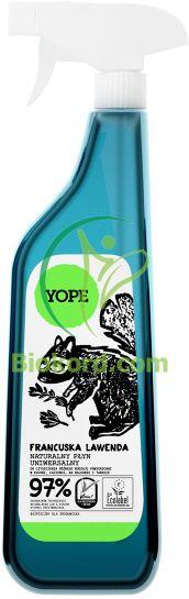 Francuska Lawenda Naturalny Płyn Uniwersalny, Yope, 750 ml