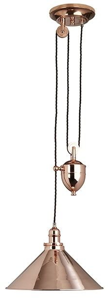 Provence Polished Copper - Elstead Lighting - żyrandol nowoczesny