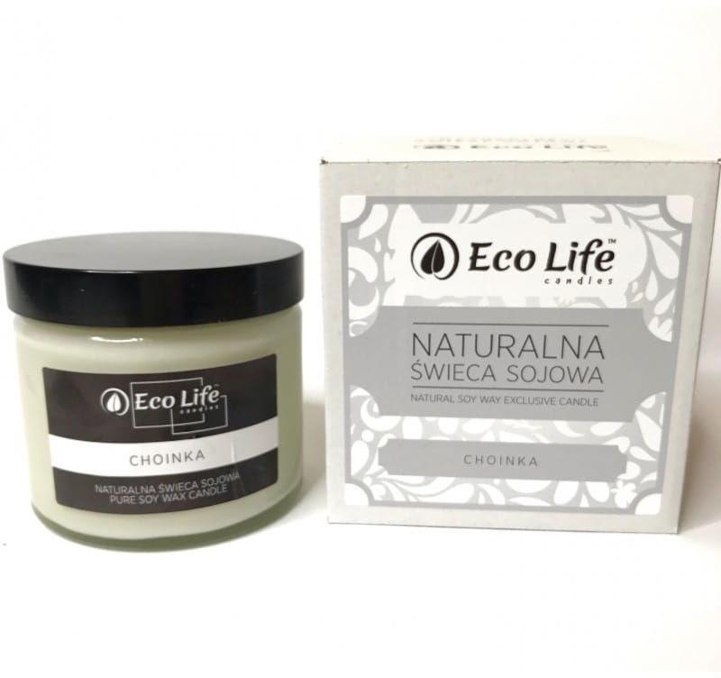 "Eco Life Naturalna Świeca Sojowa""Choinka"" Aromaterapia"