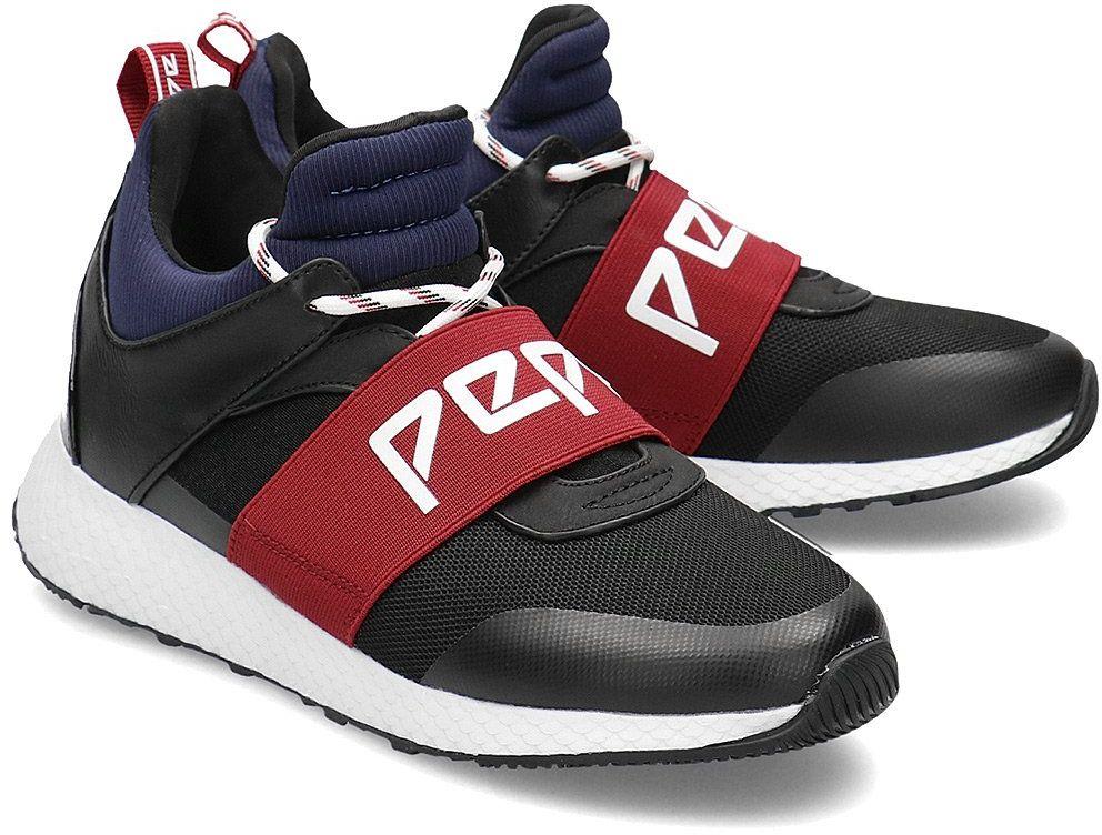 Pepe Jeans Koko Archi - Sneakersy Damskie - PLS30932 999