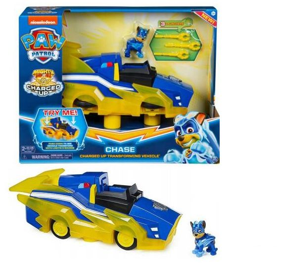 Pojazd Spin Master Psi Patrol Transformujący Chase