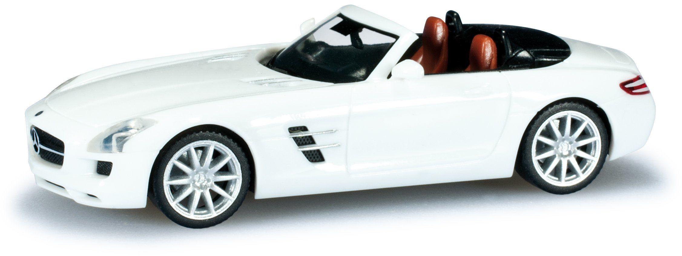 Herpa 024853 - Mercedes-Benz SLS AMG Roadster, model miniaturowy