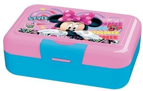 Pojemnik Śniadaniowy dla Dzieci Śniadaniówka na Kanapki Myszka Minnie Disney