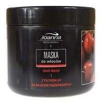 JOANNA PROFESJONALNA Maska do wosów farbowanych o zapachu dojrzaej wiśni 500g