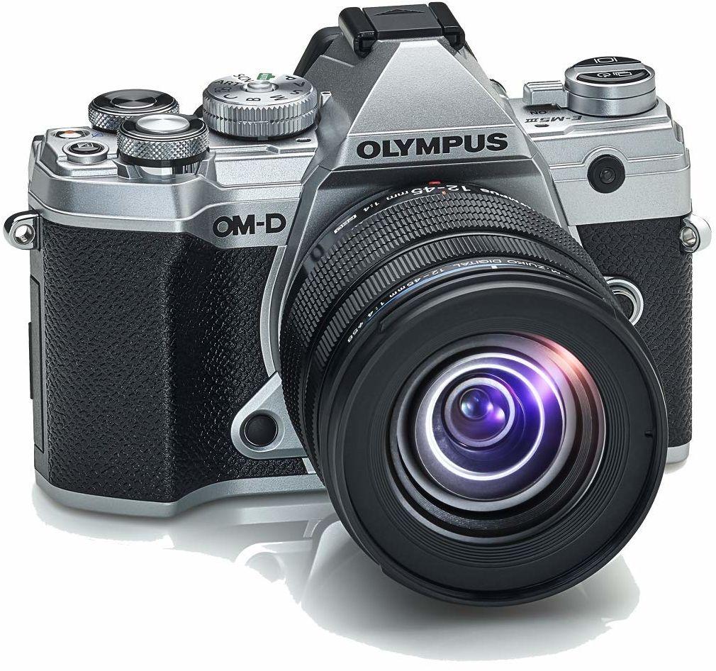 Olympus OM-D E-M5 Mark III Item Type Name + Specifications, Srebrny, 50 MP