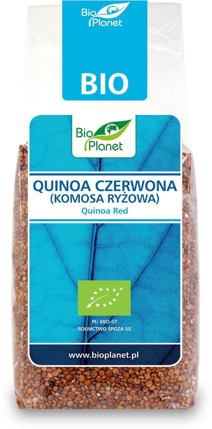 Quinoa czerwona komosa ryżowa bio 250 g - bio planet