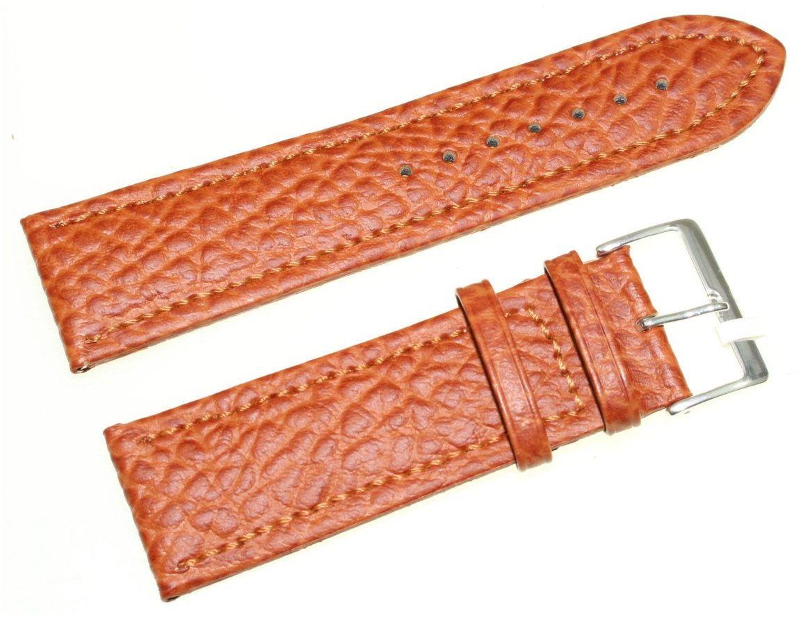 Skórzany pasek do zegarka 26 mm JVD R22003-26