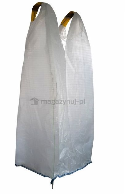 Worek BIG BAG 3. 2 uchwyty, wym. 625x625x1200mm (Ładowność 500 kg) - KOMPLET 20 szt.